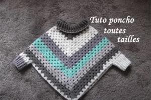 tuto poncho tricot fadinou